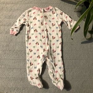 🌟5 for 15$🌟 Minnie Mouse print sleeper onesie